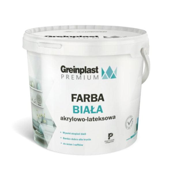 FARBA PREMIUM AKRYLOWO-LATEKSOWA GREINPLAST 10L