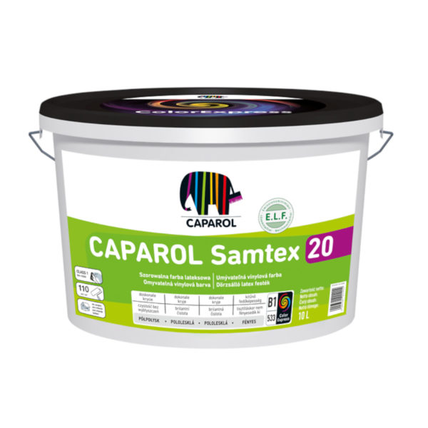 CAPAROL SAMTEX 20 FARBA LATEKSOWA