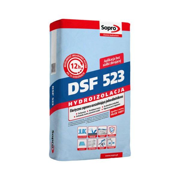 DSF523 – ELASTYCZNA ZAPRAWA USZCZELNIAJĄCA JEDNOSKŁADNIKOWA