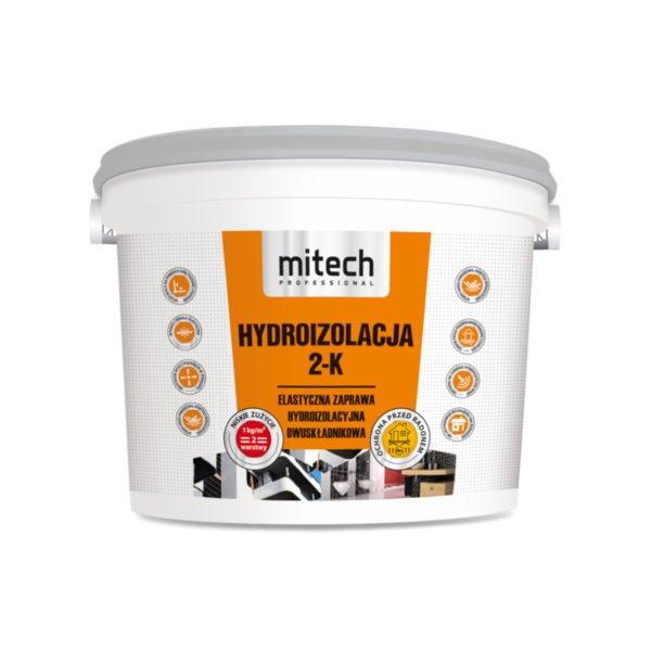 MITECH HYDROIZOLACJA 2-K zaprawa hydroizolacyjna dwuskładnikowa