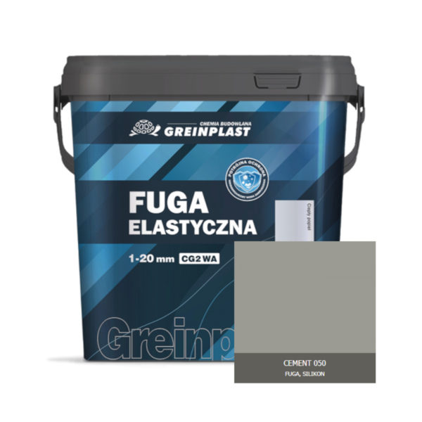 Greinplast ZFF Fuga elastyczna Cement 050