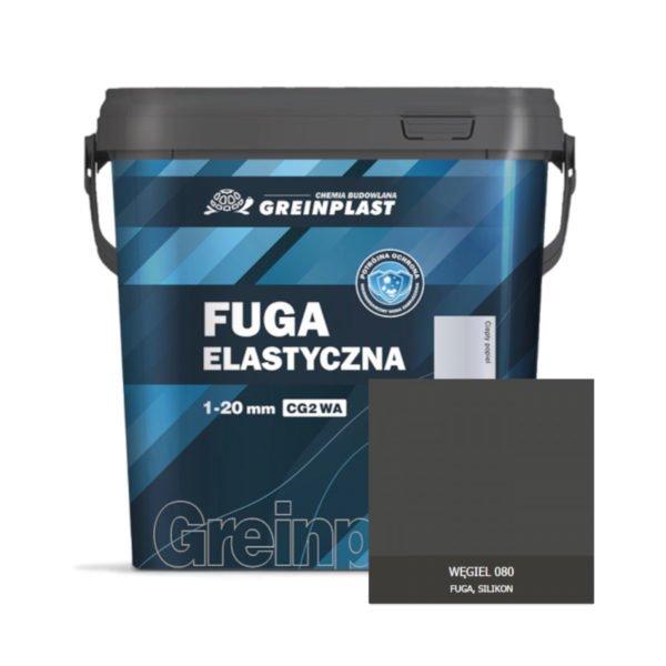 Greinplast ZFF Fuga elastyczna Węgiel 080