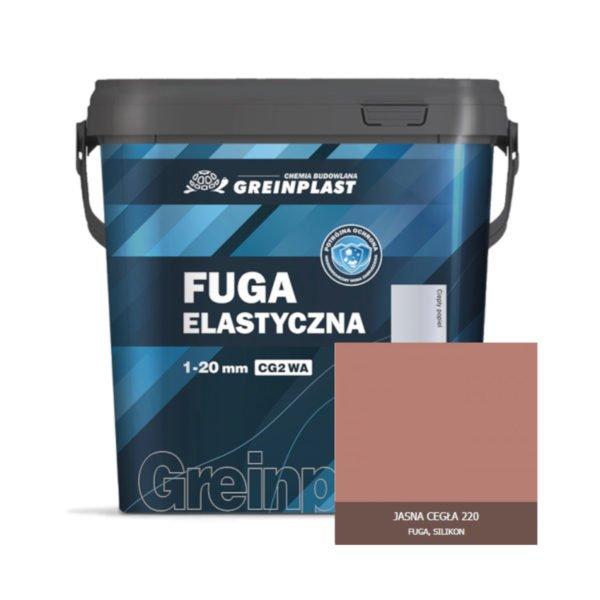 Greinplast ZFF Fuga elastyczna Jasna cegła 220
