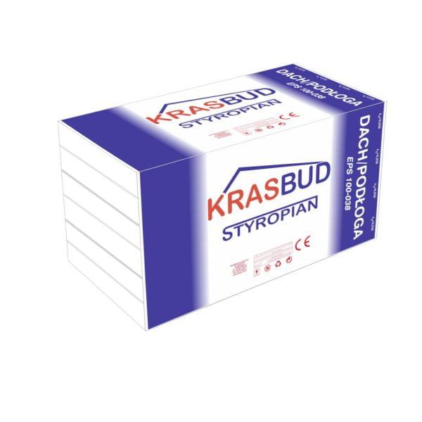 STYROPIAN KRASBUD DACH/PODŁOGA EPS 100