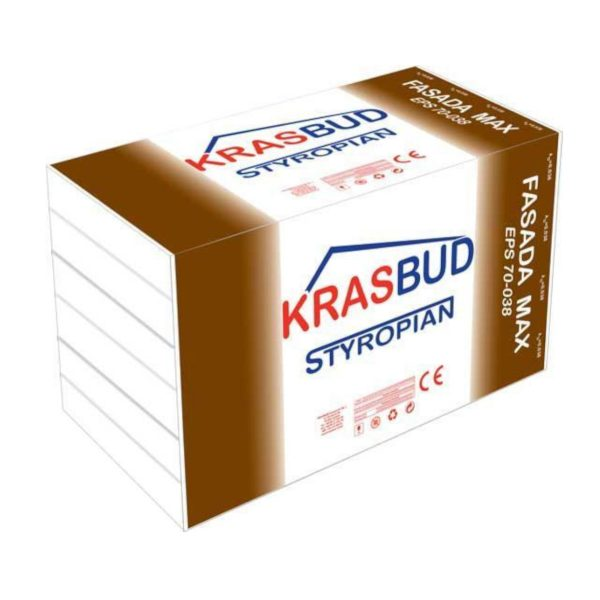 STYROPIAN KRASBUD FASADA MAX EPS 70-038
